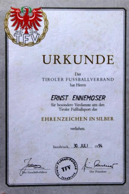 EnnemoserEhrenurkundeTFV1994