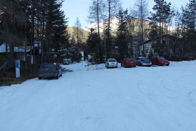 ParkplatzHolzleiten2013-12-31 3