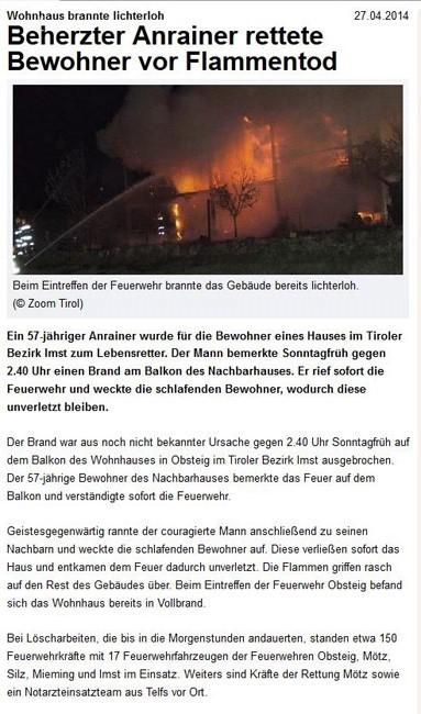 Oesterreich-heute2014-04-27 Wohnhaus-brannte-lichterloh