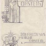 Entwürfe zur Dorfbildungswoche