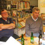 Martin Riser und Walter Bauer