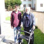 2014 mit Enkel Lukas
