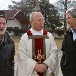 2011 - mit Pfarrer Rolli und Walter Knoflach